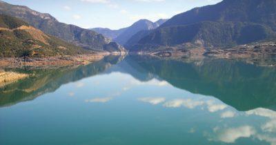 Ευηνολίμνη - Η έκπληξη από την αλλαγή του τοπίου