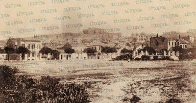 Τα Ψηλά Αλώνια στα τέλη του 19ου αιώνα