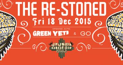 Οι Green Yeti και οι GO support στους Re-Stoned στην Πάτρα