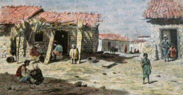 Λαϊκές συνοικίες της Πάτρας το 1860