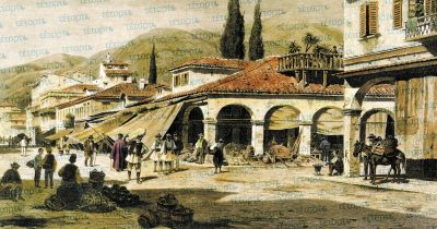 Η αγορά της Πάτρας στα 1860