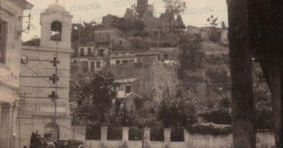 Η οδός Αγίου Νικολάου το 1920