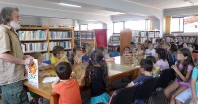 Η Δημοτική Βιβλιοθήκη Πατρών συνεχίζει τις καλοκαιρινές δράσεις