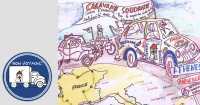 Υποδοχή στο Καραβάνι Αλληλεγγύης από την Γαλλία
