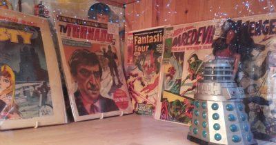 Ο J.I.M. με τα κόμικς