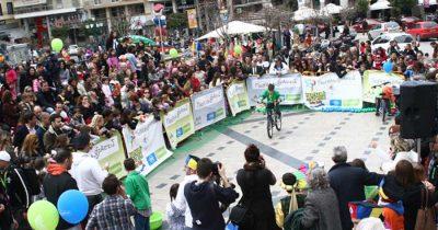 """Έτοιμοι για δράση οι μικροί ποδηλάτες του """"Bady Rally"""""""