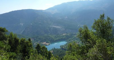 Τσιβλού, μια φυσική λίμνη με μόλις 100 χρόνια ζωής