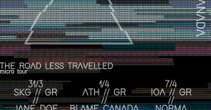 Jane Doe / Norma / Blame Canada micro tour. Τρία συγκροτήματα, τρεις πόλεις
