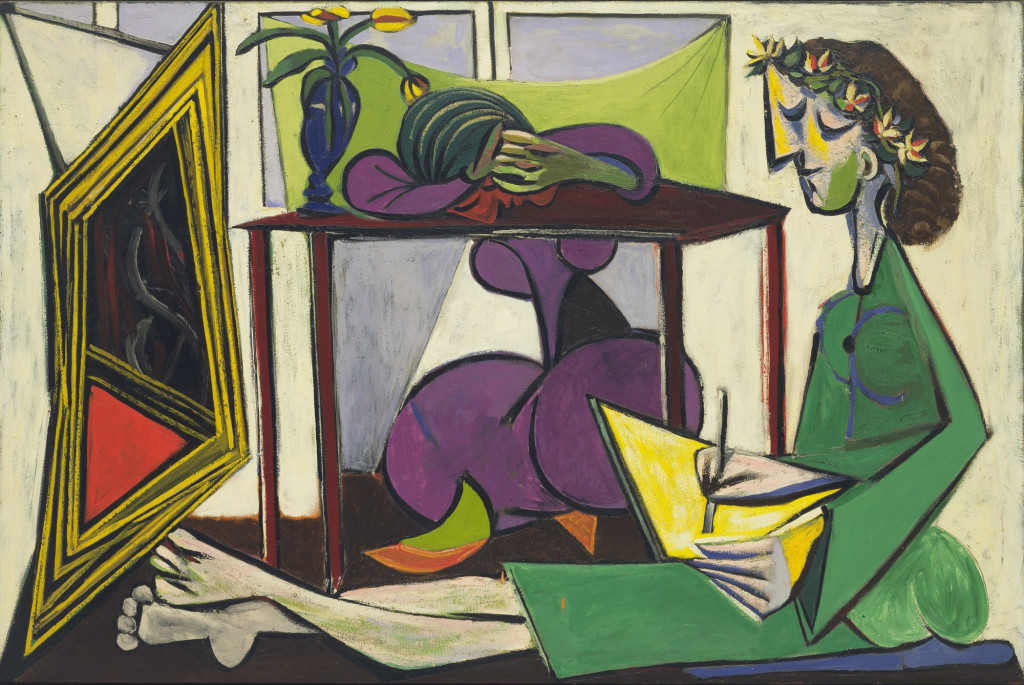 Pablo Picasso Interior with a Girl Drawing Paris, February 1935