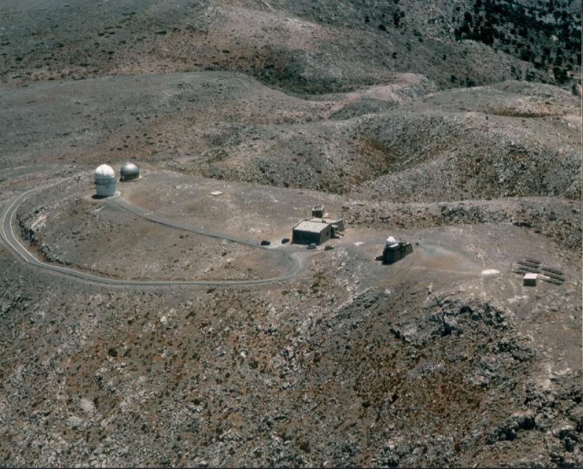 Αεροφωτογραφία του Αστεροσκοπείου
