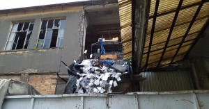 Καθαρίστηκε ο χώρος του πρώην εργοστασίου του Λαδόπουλου