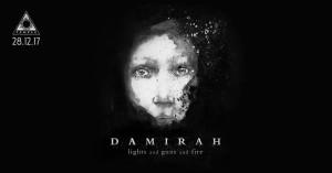 "Damirah – Ζωντανή παρουσίαση του ""Lights and Guns and Fire"""