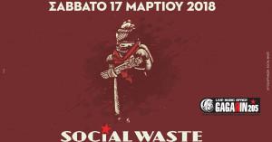 Οι Social Waste live στο Gagarin