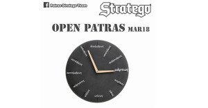 Τουρνουά Stratego OPEN Patras Mar2018