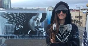 Ξεκίνησε η 3η τοιχογραφία στο Διεθνές Street Art Festival Patras | ArtWalk 3 με την Christina Angelina!