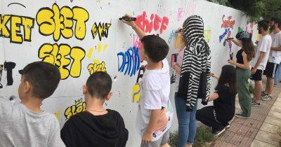 Εκπαιδευτικά Προγράμματα 3ου Διεθνούς Street Art Festival Patras | ArtWalk 3