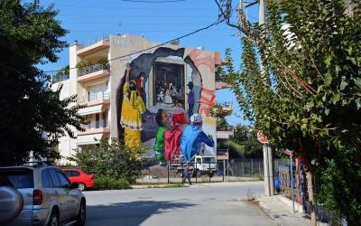 Art in Progress: Εκδήλωση με αφορμή την ολοκλήρωση μιας ακόμα τοιχογραφίας στην Πάτρα!