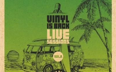 """Το Vinyl is Back κυκλοφορεί τον δεύτερο δίσκο της σειράς """"Vinyl is Back Live Sessions"""" με τους Locomondo"""
