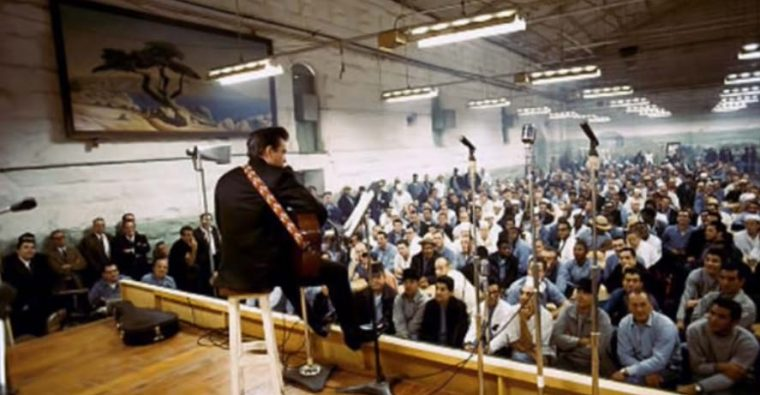 """At Folsom Prison"" - Το πρώτο άλμπουμ που ηχογραφήθηκε σε φυλακή"