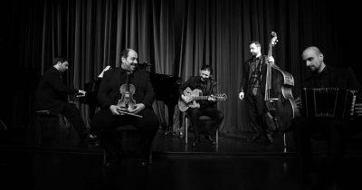 """Το κουιντέτο """"Athens Tango Ensemble"""" στο Βήμα Νέων Καλλιτεχνών του Διεθνούς Φεστιβάλ Πάτρας 2019"""