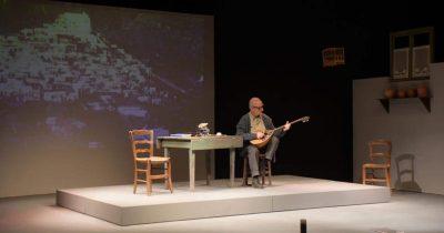 «Εγώ, ο Μάρκος Βαμβακάρης» με τον Θανάση Παπαγεωργίου στο Μικρό Άνεσις