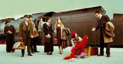 Stamboul Train του Γκράχαμ Γκρην σε σκηνοθεσία Τατιάνας Λύγαρη στην Αμαξοστοιχία - Θέατρο το Τρένο στο Ρουφ
