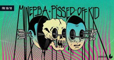 Το garage rock των Μινέρβα συναντά το weird rock των Pissed-Off Kid στο Six Dogs!