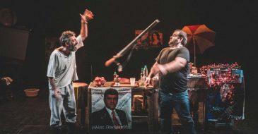 «Ο Ελέφας» του Κώστα Βοσταντζόγλου σε σκηνοθεσία Γιάννη Λεοντάρη στο Μικρό Θέατρο της Μονής Λαζαριστών