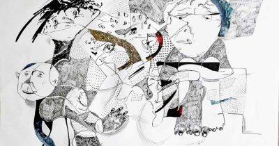 """«Τι σκέπτεσαι;» - Έκθεση ζωγραφικής του Αλέξανδρου Μπουρλή στο """"ΚΟΤΕΣ powered by Booze Cooperativa"""""""