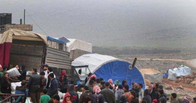 Γιατροί Χωρίς Σύνορα: Απόγνωση και εκτοπισμός στη βορειοδυτική Συρία