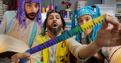 «O Ραφτάκος των λέξεων» για 8 τελευταίες παραστάσεις στο Ίδρυμα Μιχάλης Κακογιάννης