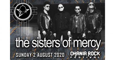 Οι θρυλικοί Sisters Of Mercy, headliners στο Chania Rock Festival