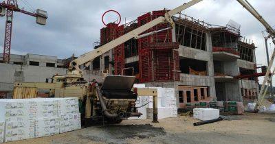 Εργατικό ατύχημα στην Πάτρα: Ανύπαρκτα τα μέτρα ασφαλείας καταγγέλλει το Συνδικάτο Οικοδόμων Πάτρας