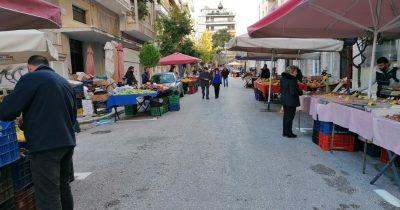 Ανακοίνωση του Δήμου Πατρέων σχετικά με τη λειτουργία των λαϊκών αγορών
