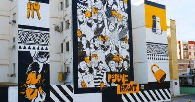 Το Διεθνές Street Art Φεστιβάλ Πάτρας   ArtWalk 5 ετοιμάζεται για τη 2η τοιχογραφία του