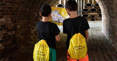 «Μια βόλτα στο μουσείο με… σακίδιο» την Κυριακή 4 Οκτωβρίου στο Βιομηχανικό Μουσείο Φωταερίου
