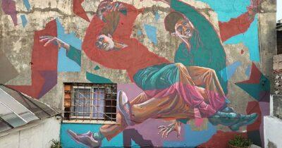 Πάτρα: Έναρξη της 5ης τοιχογραφίας του Διεθνούς Street Art Φεστιβάλ | ArtWalk 5