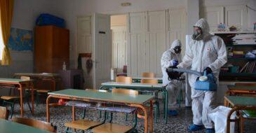 Ο Δήμος Πατρέων απολύμανε το Δημοτικό Σχολείου του Αγίου Βασιλείου, μετά το κρούσμα κορωνοϊού σε μαθητή