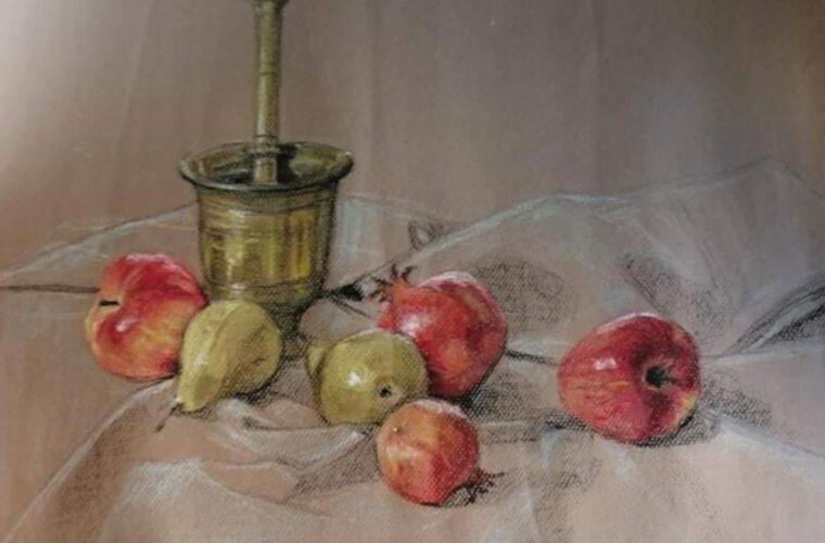 «Ζωγραφίζοντας και εικονογραφώντας» - Έκθεση ζωγραφικής της Ευτυχίας Στυλιανέα στο Πολύεδρο