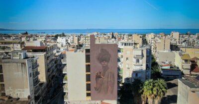 Ολοκληρώθηκε η 7η τοιχογραφία του 5ου Διεθνούς Street Art Φεστιβάλ Πάτρας   ArtWalk 5