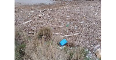 Υδάτινα απορρίμματα στο Δέλτα του Έβρου