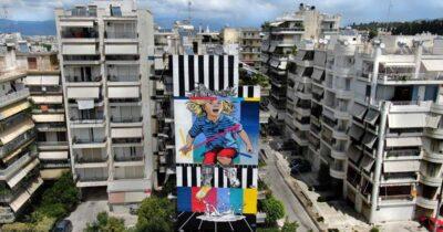 Ολοκληρώθηκε το 5ο Διεθνές Street Art Φεστιβάλ Πάτρας - ArtWalk 5