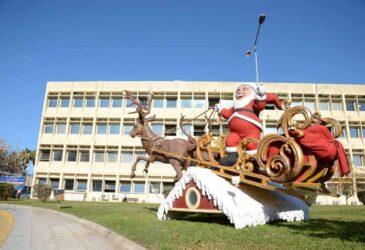 Πάτρα: Χριστουγεννιάτικος στολισμός από το Δήμο στα νοσοκομεία της περιοχής