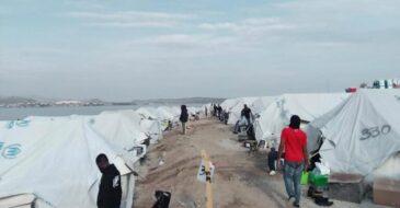 Μόρια 2: Στο έλεος του χειμώνα οι εγκλωβισμένοι πρόσφυγες στη Λέσβο