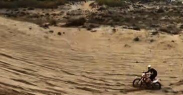 Αυθαίρετες επιδείξεις/κινήσεις από μότο-κρος στους προστατευόμενους αμμόλοφους της Στροφυλιάς