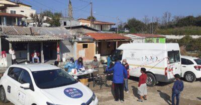 Πάτρα: Rapid test στους καταυλισμούς των Ρομά σε Βραχνέικα και Ρηγανόκαμπο