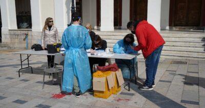 Πάτρα: Διενέργεια Rapid τεστ Covid-19 στην πλατεία Γεωργίου