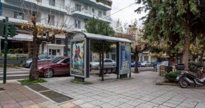 Πάτρα: Χρώμα καρναβαλιού στις στάσεις λεωφορείων