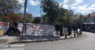 Συγκέντρωση ενάντια στα σχέδια για το «Υπουργοπάρκο» στο χώρο της ΠΥΡΚΑΛ