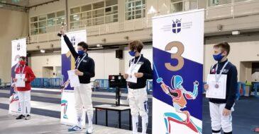 Ο Μαξιμιλιανός Χατζηγιάννης πρωταθλητής Ελλάδος στην Ξιφασκία